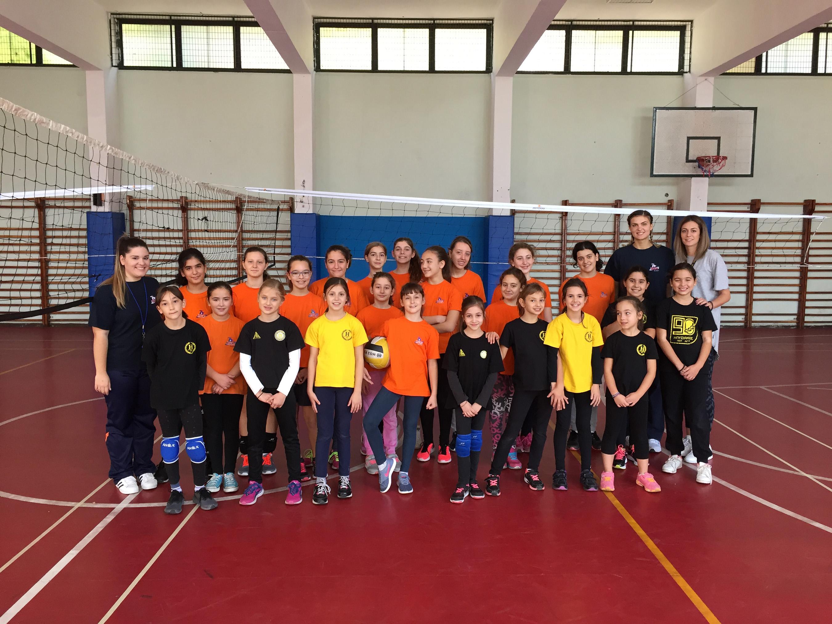 Φιλικοί Αγώνες Volley
