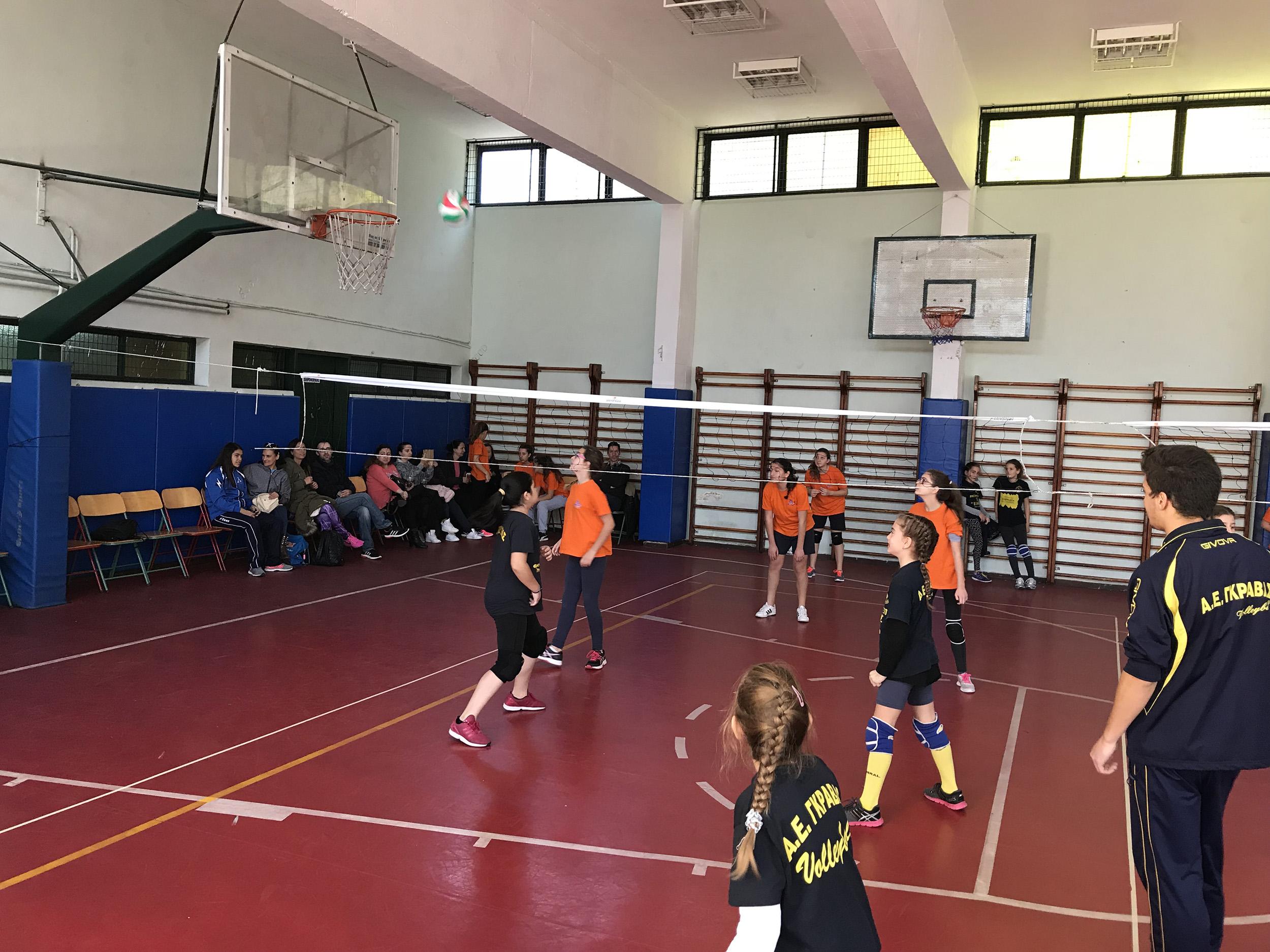 Volley – Φιλικός Αγώνας με Α.Ε. Γκράβας