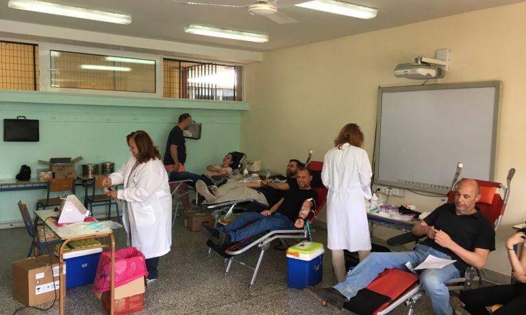 Αιμοδοσία για το Νοσοκομείο Παίδων
