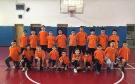 Φιλικοί Αγώνες Τμημάτων Υποδομής Μπάσκετ