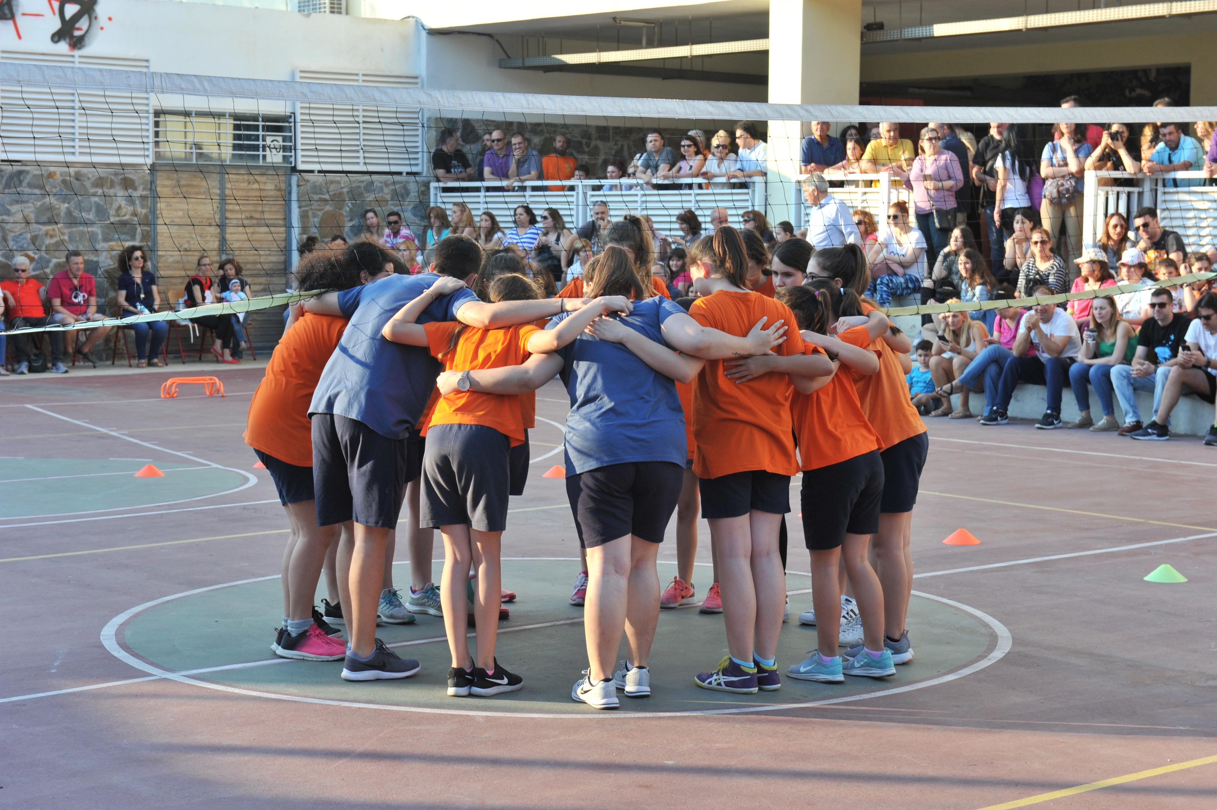 Φιλικοί Αγώνες Κορασίδων Volley