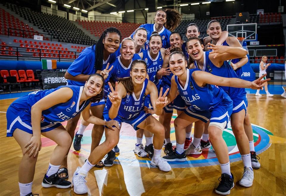 Στα Προημιτελικά του Ευρωπαϊκού Πρωταθλήματος η Εθνική Νεανίδων